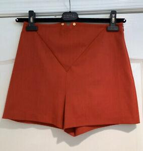 La Perla Red Wool Shorts Daily Looks Size 44 NWT MRSP:$500