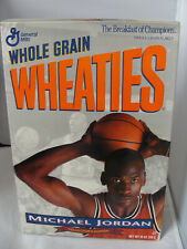 NEW Unopened Sealed 1993 Michael Jordan WHEATIES Box Collector's Edition **READ*