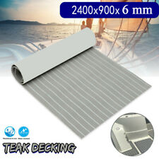 1PCS Marine Floor EVA Foam Boat Sheet Synthetic Teak Decking Auto-Adhesive Mats