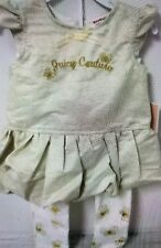 New Juicy Couture Baby Girls Outfit Clothes 24M Dressy Butterflies 2PC SHARP