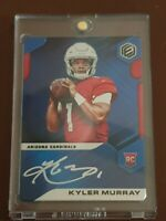 Nfl trading card Kyler Murray Elements Rookie Blue on Metal Auto #03/10