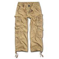 Brandit Pure Vintage Trouser Beige Cargohose Outdoor Army Armeehose