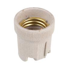 Screw E27 Ceramic Porcelain Socket Bulb Holder for Heat Lamps Reptile Vivarium