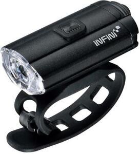Infini Tron 100 USB Front Light, Black / Bicycle Lamp