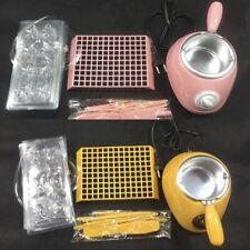 Electric Chocolate Melting Machine Pot Fondue Set Wax Candy Butter Melts