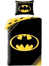 Kinderbettwäsche 140x200 Bettbezug Bettgarnitur Batman 01 Marvel
