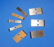 Gala 1-Hole (100 Qty.) Pelletizer knives 0.320 M-2 Tool Steel material