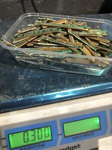 300 Grams Of Gold  Fingers  Gold Recovery Computer scrap see Photos HIGH Yield