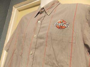 Coca-Cola Driver Uniform Short Sleeve Shirt
