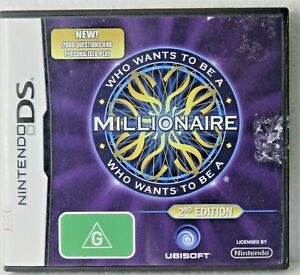 WHO WANTS TO BE A MILLIONAIRE 2nd Edition Case, sleeve, book & card incl Used