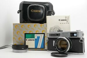 [CLA'd MINT w/ BOX] Canon Model 7 Rangefinder Camera 50mm f/1.4 Lens From Japan
