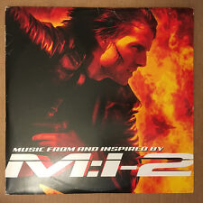 MISSION IMPOSSIBLE MUSIC FROM AND INSPIRED BY M:I-2 SOUNDTRACK 2-LP IMPORT VINYL