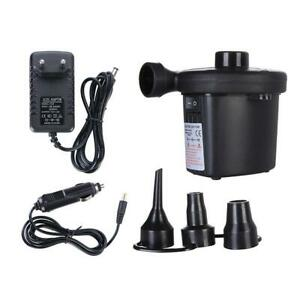 For Car Boat Paddling Pool Bed Mattress Electric 220V Power Blower Air Pump W2V8