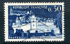 STAMP / TIMBRE FRANCE OBLITERE N° 1333 REMPARTS ILLUMINES DE VANNES