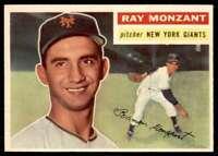 1956 Topps EX Ray Monzant New York Giants #264