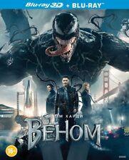 Venom (Blu-ray 3D+2D, 2-Disc set, w.Slipcover) Eng,Rus,Ukr,French,Italian