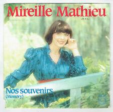 """Mireille MATHIEU Vinyle 45T 7"""" NOS SOUVENIRS Mémory MOLIERE - PHILIPS 6010582"""