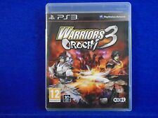 *ps3 WARRIORS OROCHI 3 (NI) Over 120 Playable Characters! REGION FREE ENGLISH