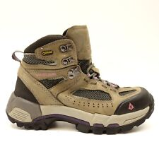 Vasque Womens Breeze 2.0 GTX Brown Breathable Athletic Hiking Trail Mid Boots 7