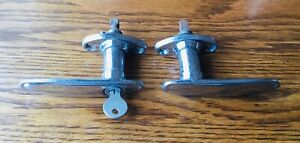 1931 Dodge DOOR HANDLES vtg 1930s exterior MOPAR lock