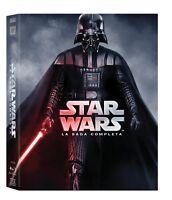 STAR WARS - La Saga Completa (9 Blu-Ray)-COFANETTO-nuovo, sigillato