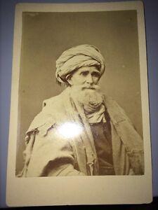 ALGÉRIE : Photographie D' Un Algérien Avant 1880.