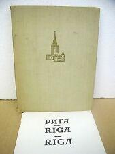 Riga ( Latvia ) 1959 Hardcover