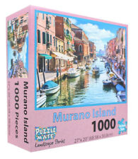 Puzzle Mate - Murano Island - 1000 Piece Jigsaw Puzzle 27x20 in.