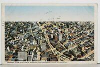 GA General View of Atlanta Showing The Proposed Plaza Georgia Postcard J19