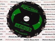 "12580  RAZOR MAX  7"" BRUSHCUTTER BLADE 1"" center Hole ( SHIPS  FREE )"