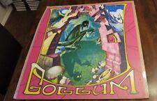 Vintage Gollum No. 1 Hobbit Lord Rings Poster Print D de S Pernes 60's 67 Rare