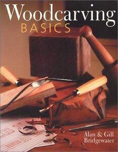 Woodcarving Basics Bridgewater woodworking carve paperback 2002 Free Ship New