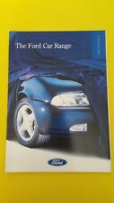 Ford Fiesta Escort Mondeo Probe Galaxy Scorpio Maverick sales brochure 1995 MINT
