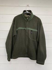 Patagonia Synchilla Fleece Men's Large Green Full Zip