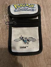Vintage Pokemon Gotta Catch Them All Silver Nintendo GameBoy Carrying Case Lugia