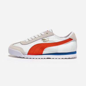 PUMA Roma 68 Nylon White Authentic Leather Suede Sneakers 37174803