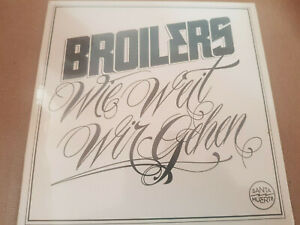 Broilers  Wie weit wir gehn  wie neu  Vinyl Limited + 2 unreleased Songs