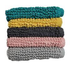 Micro Bobble Bathmat Polycotton Material Size: 50x80cm 5 Colours Available