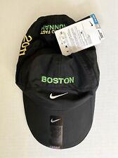 "New Nike Boston ""Wicked Fast Runnah"" Featherlight Dri-Fit Marathon Running Hat"