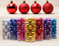24pcs Christmas Tree Decor Ball Bauble Hanging Home Xmas Party Ornament Decor