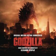 Godzilla - 2 x LP Original Score - Black Vinyl - Alexandre Desplat