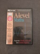 A-LEVEL MATHS - A-LEVEL AS-LEVEL MATHEMATICS PC SOFTWARE - VERY GOOD CONDITION.