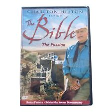 Charlton Heston Presents the Bible: The Passion DVD, 2004 BRAND NEW SEALED
