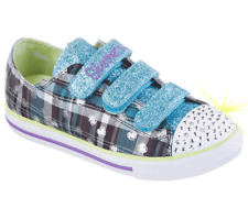 New Girl's Skechers Twinkle Toes: Chit Chat - Prepster Girlz (10507L) (M28) 2