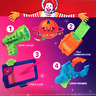 McDonald's Space Rescue Complete Set of All 4 Happy Meal Toys - 1994