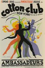 Cotton Club New York Fine Art Poster Lithograph Jean Mercier S2