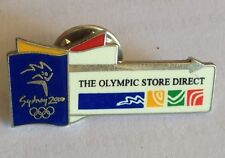 The Olympic Store Direct Sydney Games 2000 Pin Badge Rare Vintage (F1)