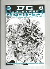 DC Rebirth #1 and SKETCH VARIANT   9.4 NM 2016 DC