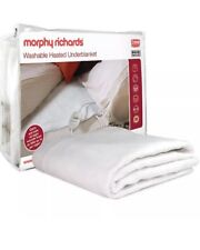 Morphy Richards 600112 Washable Heated Electric Blanket Double Faulty Return