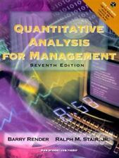 Quantitative Analysis for Management by Barry Render and Ralph M., Jr. Stair (19